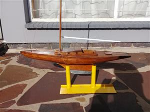 Model yacht for sale
