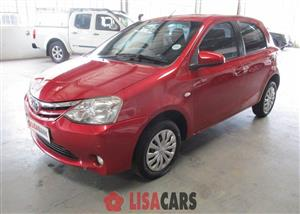 2015 Toyota Etios hatch 1.5 Sprint