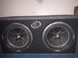 Subwoofer box kicker