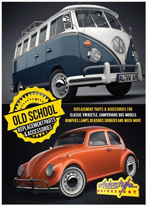 AIRCOOLED Replacement parts and accessories for classic VW Beetle, campervan bus models, old school beetle parts,