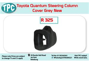 Toyota Quantum Steering Column Cover Grey for Sale at TPC