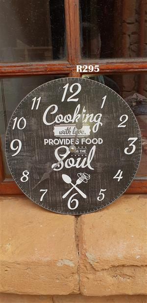 Cooking Soul Wall Clock (D315mm)
