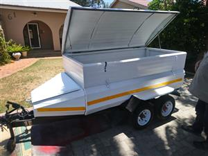 Newly painted and renovated trailer for sale