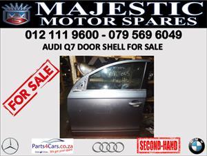 Audi Q7 door shell for sale 2016