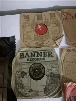 Banner records for sale