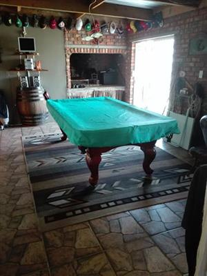 Imported pooltable.