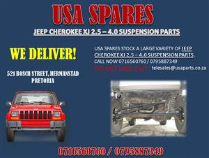 JEEP CHEROKEE XJ 2.5 – 4.0 USED SUSPENSION PARTS FOR SALE