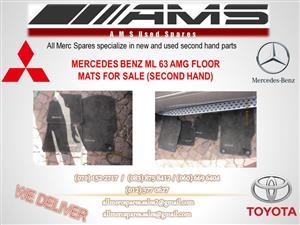 MERCEDES BENZ ML 63 AMG FLOOR MATS FOR SALE