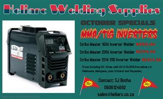 MMA/TIG inverter welding machines