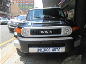2012 Toyota FJ Cruiser FJ Desert Cruiser