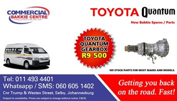 toyota quantum gearbox for sale