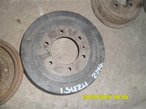 Isuzu 2014 rear brake drum