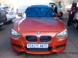 2013 BMW 1 Series 130i 5 door M Sport