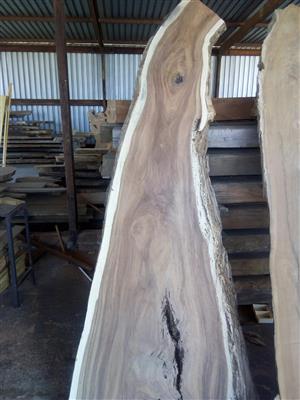 Wooden Slab Furniture