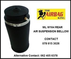 air spring / air suspension / air bellow -- Mercedes ML w164 2006 - 2012