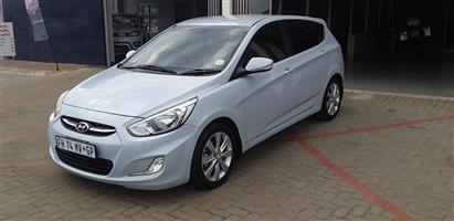 2016 Hyundai Accent hatch 1.6 Fluid