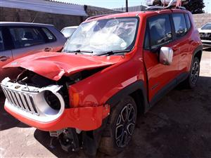 Jeep Renegate 1.4 T Jet - 2017 - Stripping for spares