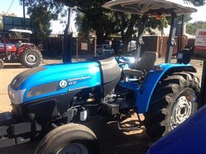S3082 2013 Blue Landini Techno Farm 60 43kw/58Hp 2x4 Pre-Owned Tractor