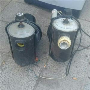 2 x swimming pool motors