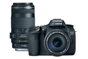 Canon EOS 7D With 18-135mm Lens Kit