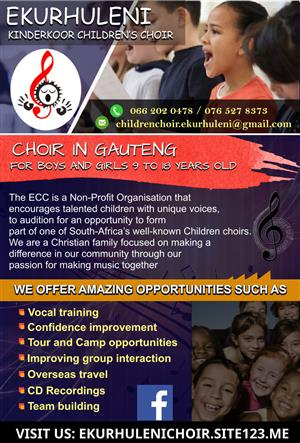 Ekurhuleni Kinderkoor Children's Choir