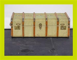 Vintage Wood Banded Suitcase - SKU 559 for sale  Durban - Outer West Durban
