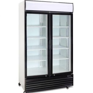 Beverage Cooler Double Door Demo