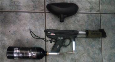 PAINTBALL GUN PIRANHA