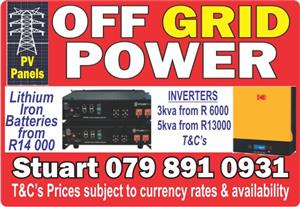 Off Grid Power
