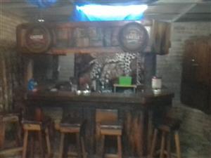 Sleeperhout Bar