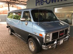 1989 GMC Rally STX Van Left Hand Drive