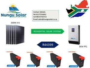 Residential Solar System,Tried And Tested !