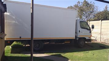 Renting/ Hire a 4ton truck closed body