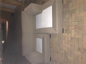 Coricraft l shape couch