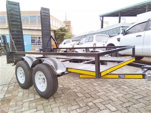 Car & Bob cat Trailer