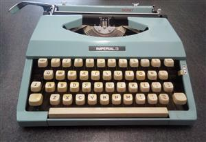 Old Type Writer Signet Imperial