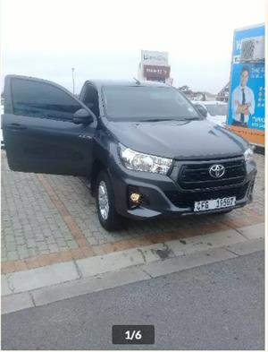 2019 Toyota Hilux single cab HILUX 2.4 GD 6 RB SRX A/T P/U S/C