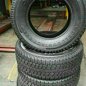 we sell fairly used tyres suitable for ur budget