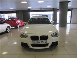 2015 BMW 1 Series 120d 5 door M Sport
