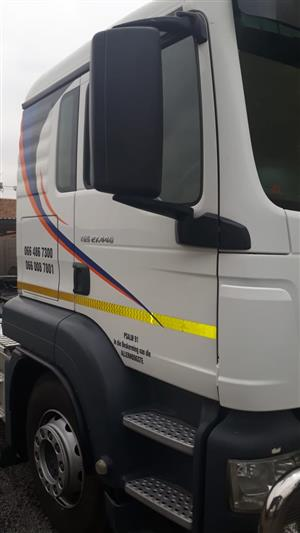 2 x MAN Trucks