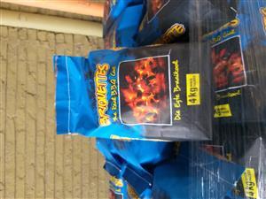 Braai Briquettes for sale.