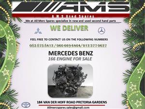 MERCEDES 166 ENGINE