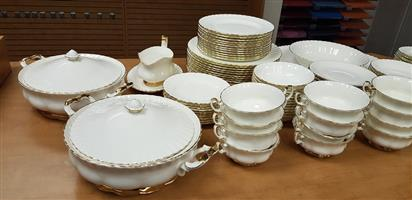 Royal Albert Val D'Or Dinner Set 80 Piece