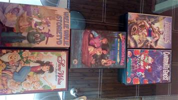 VHS Movies for Kids x 9. All for 90