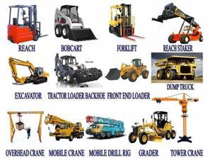over head crane,grader,tlb,front end loader,mobile crane training@ 0744197772