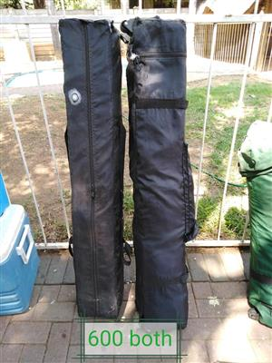2 Camping chairs for sale
