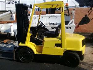 A used 2.5ton Hyster H2.50XM