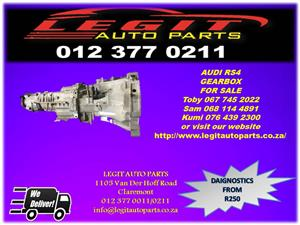 Legit Auto Parts we are Currently  Selling  AUDI RS4 GEARBOX  FOR SALE