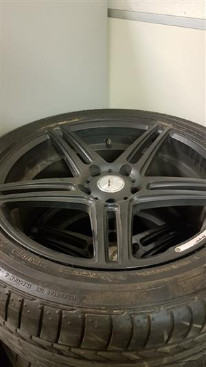 """18""""Mags with tyres"""