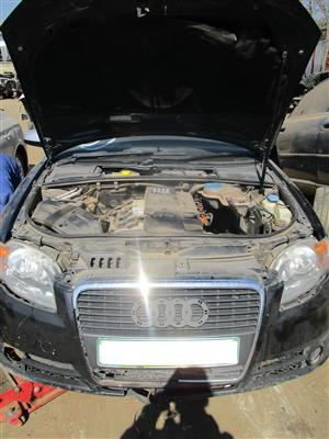 AUDI A4 B7 2.0 TURBO STRIPPING FOR SPARES